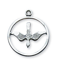HOLY SPIRIT MEDAL L369