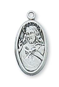 SACRED HEART OF JESUS MEDAL L66SC