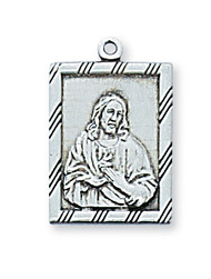SACRED HEART OF JESUS MEDAL L811