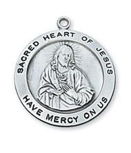 SACRED HEART OF JESUS MEDAL L567