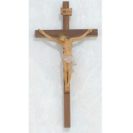 "10"" WALNUT ITALIAN CRUCIFIX 79-00810"