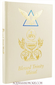 White Blessed Trinity Missal and Prayer Book