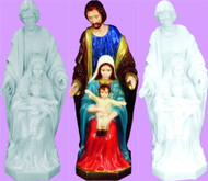 HOLY FAMILY OUTDOOR STATUE 24""