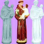 ST. ANTHONY & CHILD OUTDOOR STATUE  24""