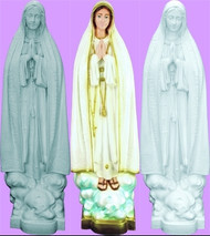 OUR LADY OF FATIMA OUTDOOR STATUE 32""