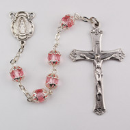 ALL CAPPED ROSE ROSARY 701S-RS/F