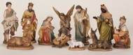 "11 PIECE SET 6"" COLOR NATIVITY SET"