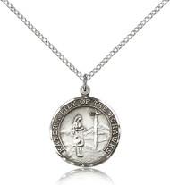 St. Kateri Sterling Silver Medal 5899-bliss