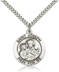 St. Joseph Sterling Silver Medal 4079-bliss