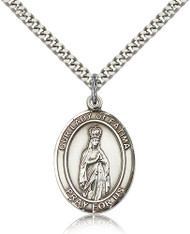 Our Lady of Fatima Sterling Silver Medal 7205-bliss