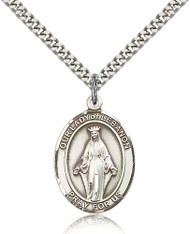 Our Lady of Lebanon Sterling Silver Medal 7229-bliss