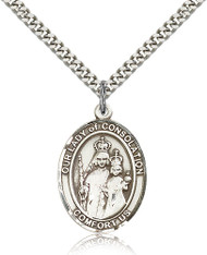 Our Lady of Consolation Sterling Silver Medal 7292-bliss