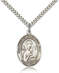 Our Lady of Perpetual Help Sterling Silver Medal 7222-bliss
