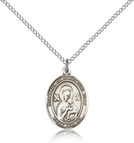 Our Lady of Perpetual Help Sterling Silver Medal 8222-bliss