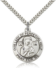 Our Lady of Perpetual Help Sterling Silver Medal 4077-bliss
