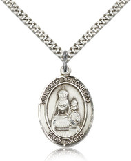 Our Lady of Loretto Sterling Silver Medal 7082-bliss