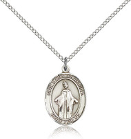 Our Lady of Africa Sterling Silver Medal 8269-bliss