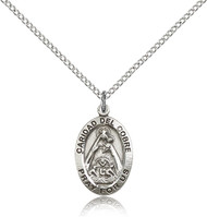 Our Lady of Caridad del Cobre Sterling Silver Medal 3991-bliss