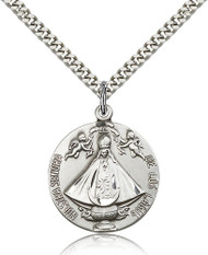 Our Lady of San Juan Sterling Silver Medal 4271-bliss