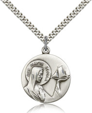 Our Lady Star of the Sea Sterling Silver Medal 4232-bliss