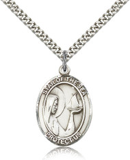 Our Lady Star of the Sea Sterling Silver Medal 7101-bliss