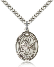 Our Lady of Mercy Sterling Silver Medal 7289-bliss