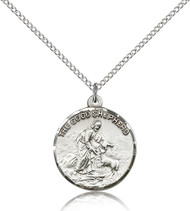 The Good Shepherd Sterling Silver Medal 4264-bliss