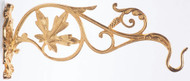 Sanctuary Lamp Wall Bracket (pictured with 24k gold plate finish) K664