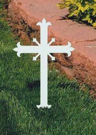 Miniature Fleur-de-lis Memorial Cross K4157