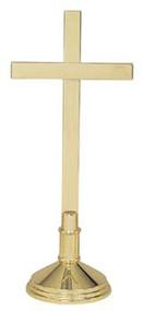 Solid Brass Altar Cross K251