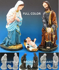 Outdoor Holy Family Nativity (Starter Set)