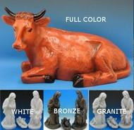 Outdoor Nativity Oxen