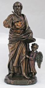 St. Matthew the Evangelist Statue with Angel