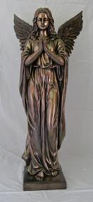 """Praying Angel Statue (38""""--indoor/outdoor)"""