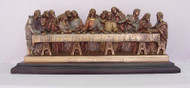 Last Supper Standing Statue (available in various colors & sizes)