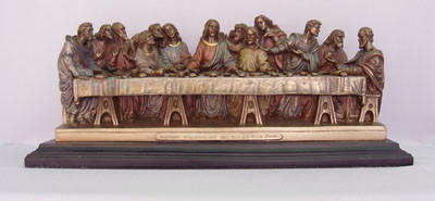 Last Supper Standing Statue (various finishes & sizes)