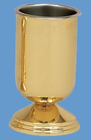 Ecclesiastical Brass Vase 484