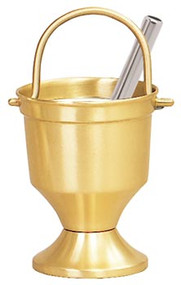 Holy Water Pot, Sprinkler & Liner 164