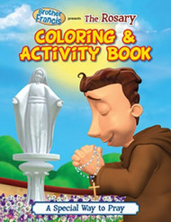 "Brother Francis ""The Rosary"" Coloring & Activity Book"