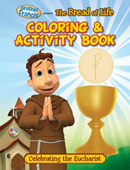 "Brother Francis ""The Bread of Life"" Coloring & Activity Book"