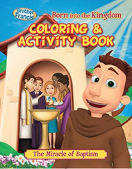 "Brother Francis ""Born Into the Kingdom"" Coloring & Activity Book"