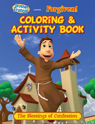"Brother Francis ""Forgiven!"" Coloring & Activity Book"