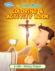 "Brother Francis ""The Mass"" Coloring & Activity Book"
