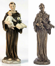 St. Anthony and Child Statue