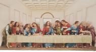 Last Supper Wall Plaque (bronze or color)