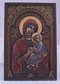 Our Lady of Perpetual Help Wall Plaque (bronze, pewter or color)