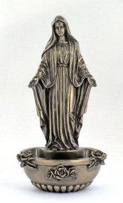 Lady of Grace Holy Water Font 75377