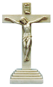 Standing Crucifix - Made in Italy (ET-20-SA)
