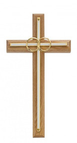 "WEDDING CROSS OAK 8"" 71-11"