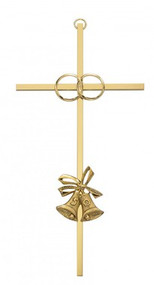 "50TH ANNIVERSARY CROSS GOLD 8"" 71-44850"